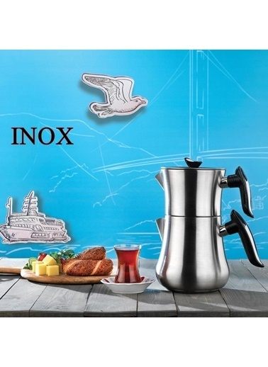 Schafer SCHAFER-INCEDEMCAY Schafer İncedem Çaydanlık Takımı 4 Parça Renkli